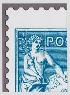 Blocs Gommés Neufs Type Sage Bleu Sans Valeur Faciale - Unclassified