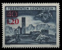 Liechtenstein 1952 - Mi-Nr. 310 ** - MNH - Freimarke Mit Aufdruck - Liechtenstein