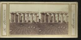 Carte Stereo  Paestum La Basilica - Altre Città