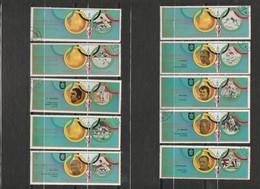 Ajman - Lot 35 Timbres - Jeux Olympiques Munich 1972 - Année 1972 - Ajman