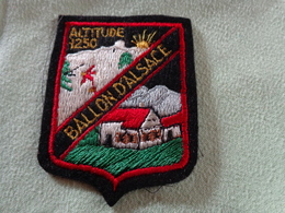 Ecusson Tissu BALLON D'ALSACE - Escudos En Tela