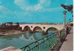 CAPUA - PONTE ROMANO SUL VOLTURNO - ANIMATA - VIAGGIATA 1972 - Italia