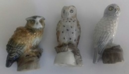 FEVES CHOUETTES ET HIBOU - Animaux