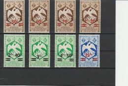 A.E.F.TIMBRES**LUXE SERIE COMPLETE N° 198/205 COTE 9.80 EUROS - A.E.F. (1936-1958)