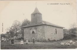 Haute Vienne.  Grandmont.  Place De L' église. - France