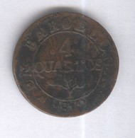 4 Quartos Espagne 1812 Joseph Bonaparte TB+ - Premières Frappes