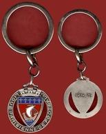 ** PORTE - CLEFS  LIGUE  PARISIENNE  De  FOOTBALL  1974 - 75 ** - Porte-clefs