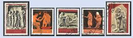 GREECE- GRECE- HELLAS 1977: International Year Of  Rheumatic Patiens  Compl Set Used - Griekenland