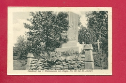 C.P. Saint-Hubert =  Denkmal Des 7. Rheinischen Inf.-Regtd  N° 69 Bei - Saint-Hubert