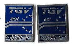 TGV AUTRES - TA10 - TGV EST - 2 Modèles - Verso : SM - TGV