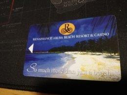 ARUBA KEY HOTEL Renaissance Aruba Resort & Casino  SO MUCH MORE THAN JUST A BEACH   ** 339 ** - Hotelkarten