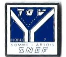 TGV AUTRES - TA8 - TGV NORD - SOMME-ARTOIS - Verso : SM - TGV