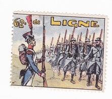 Vignette Militaire Delandre - 62ème Régiment D'infanterie - Vignettes Militaires