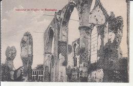 Reninghe (1914-1918) - Intérieur De L'Église - Lo-Reninge