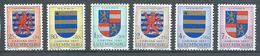 Luxembourg YT N°534/539 Blasons Neuf ** - Luxemburg