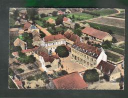 CP (21) En Avion Au Dessus De ... Chamblanc - Chapelle Et Ecole Ménagère - France