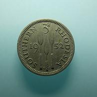 Southern Rhodesia 3 Pence 1952 - Rhodesien