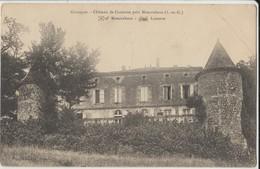 Cpa ( 47 Lot-et-garonne) Chateau De Casteron Près Moncrabeau 1910 - France