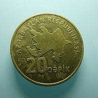 Azerbaijan 20 Qapik - Azerbaïjan
