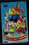 JAPAN 1990 PHONECARD DISNEY USED VF!! - Disney