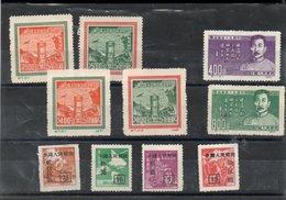 Chine  Neufs* Sans Gomme Année 50 - 1949 - ... Repubblica Popolare