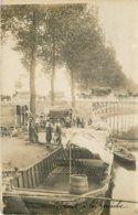 Thèmes - CARTE PHOTO à Identifier - 10987 - Péniche - Francia
