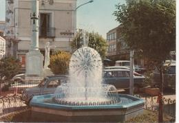 PIZZO CALABRO - FONTANA LUMINOSA - AUTO D'EPOCA CARS VOITURES FIAT 500 - MONUMENTO AI CADUTI - VIAGGIATA 1972 - Andere Städte