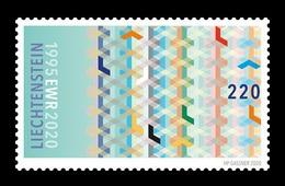 Liechtenstein 2020 Mih. 1977 Membership In European Economic Area MNH ** - Nuovi