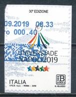 °°° ITALIA 2019 - UNIVERSIADE NAPOLI °°° - 6. 1946-.. Republic