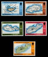 ALDERNEY Nr 37-41 Postfrisch X6A69A2 - Alderney