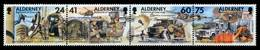 ALDERNEY Nr 90 4S-93 4S Postfrisch S013A2A - Alderney