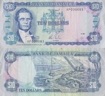 Jamaica / 10 Dollars / 1985 / P-71(a) / XF - Giamaica