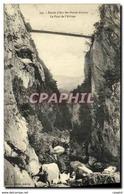 CPA Route D Aix Les Bains Annecy Le Pont De L Abime - Annecy