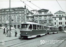 AK - Straßenbahn Tramway Tram - Prag Prague - Tatra T3 1965 - Tramways