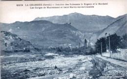 73 - Savoie -  LA CHAMBRE  - Jonction Des Ruisseaux Le Bugeon Et Le Merderet - Autres Communes
