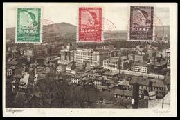1934, Jugoslawien, 272-274, Brief - Sin Clasificación
