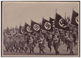 Dt.-Reich (008152) Propaganda Sammelbild, Deutschland Erwacht, Bild 216, Der Apell Der Politischen Amtsverwalter - Briefe U. Dokumente
