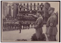 """DT- Reich (008167) Propaganda Sammelbild Deutschland Erwacht"""""""" Bild 81, SA Aufmarsch In Leipzig 1933 - Briefe U. Dokumente"""