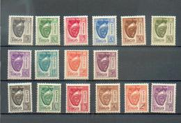 Togo 461 - YT Taxe 22 à 31 ** / 32 à 37 ** - Togo (1914-1960)