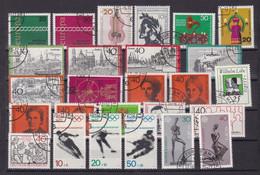 1 Steckkarte Mit Marken, Gestempelt - [7] République Fédérale
