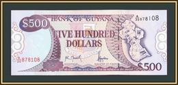 Guyana 500 Dollars 1996 P-32 UNC - Guyana