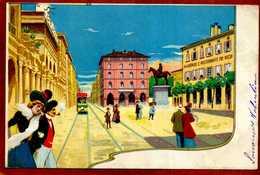 Italie  Jolie CPA Illustrée De BOLOGNA Pour Alberto Ristorante TRE VECCHI    Bon état - Bologna