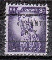 USA Precancel Vorausentwertung Preo, Locals New York, Atlanta 712 - Vorausentwertungen