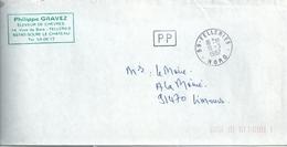 Cachet Manuel De Felleries - Port Payé - Manual Postmarks