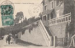 CARTE POSTALE   SAINT JEAN LE THOMAS 50  Route De Granville - France