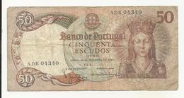 Portugal 50 Escudos 1964 *Capicua* *RADAR* - Portogallo