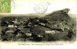 Sur CPA De Diago-Suarez-Cachet à Chiffre N° 34 (IFANDANA) -  1909 - - Lettres & Documents