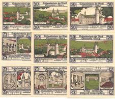 Notgeld Gernrode- 5 X 50, 4 X75 Pf 192 - [11] Lokale Uitgaven
