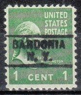 USA Precancel Vorausentwertung Preo, Locals New York, Bardonia 729 - Vorausentwertungen