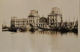Oostende - Ostende // Carte Photo - FOTOKAART / Gare Maritime - Station Ca 1920-30 Mogelijk Uniek - Oostende